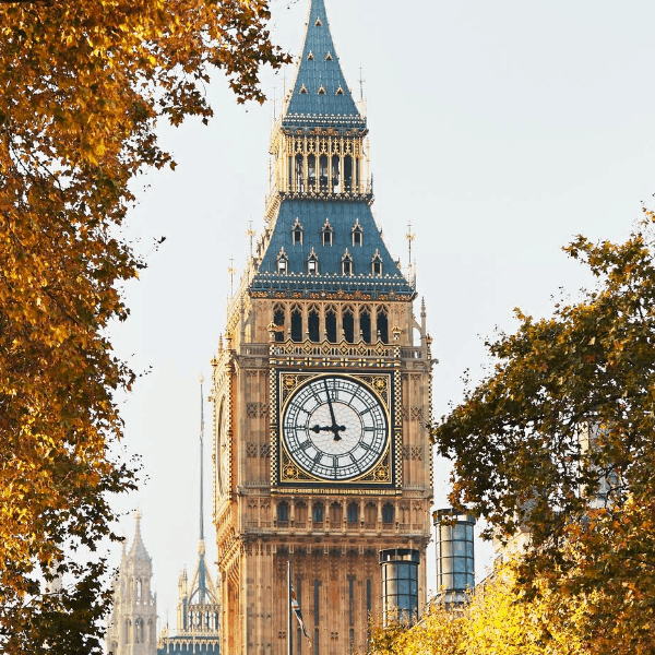 Big Ben Autumn in London