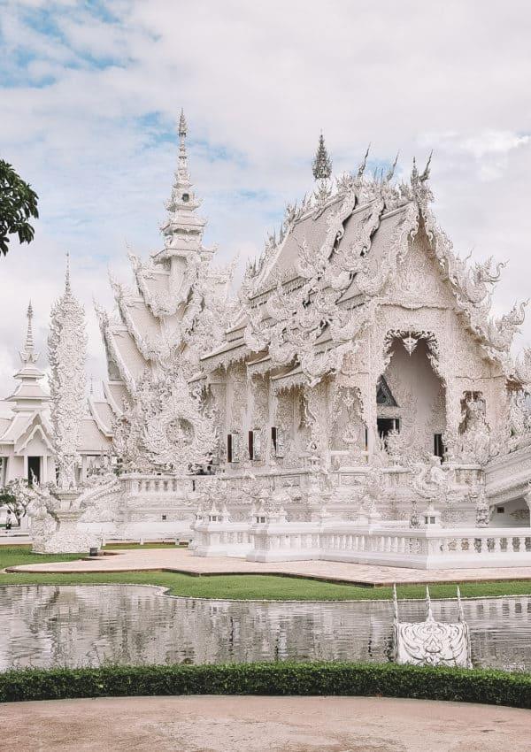 Visiting the White Temple: Chiang Rai, Thailand