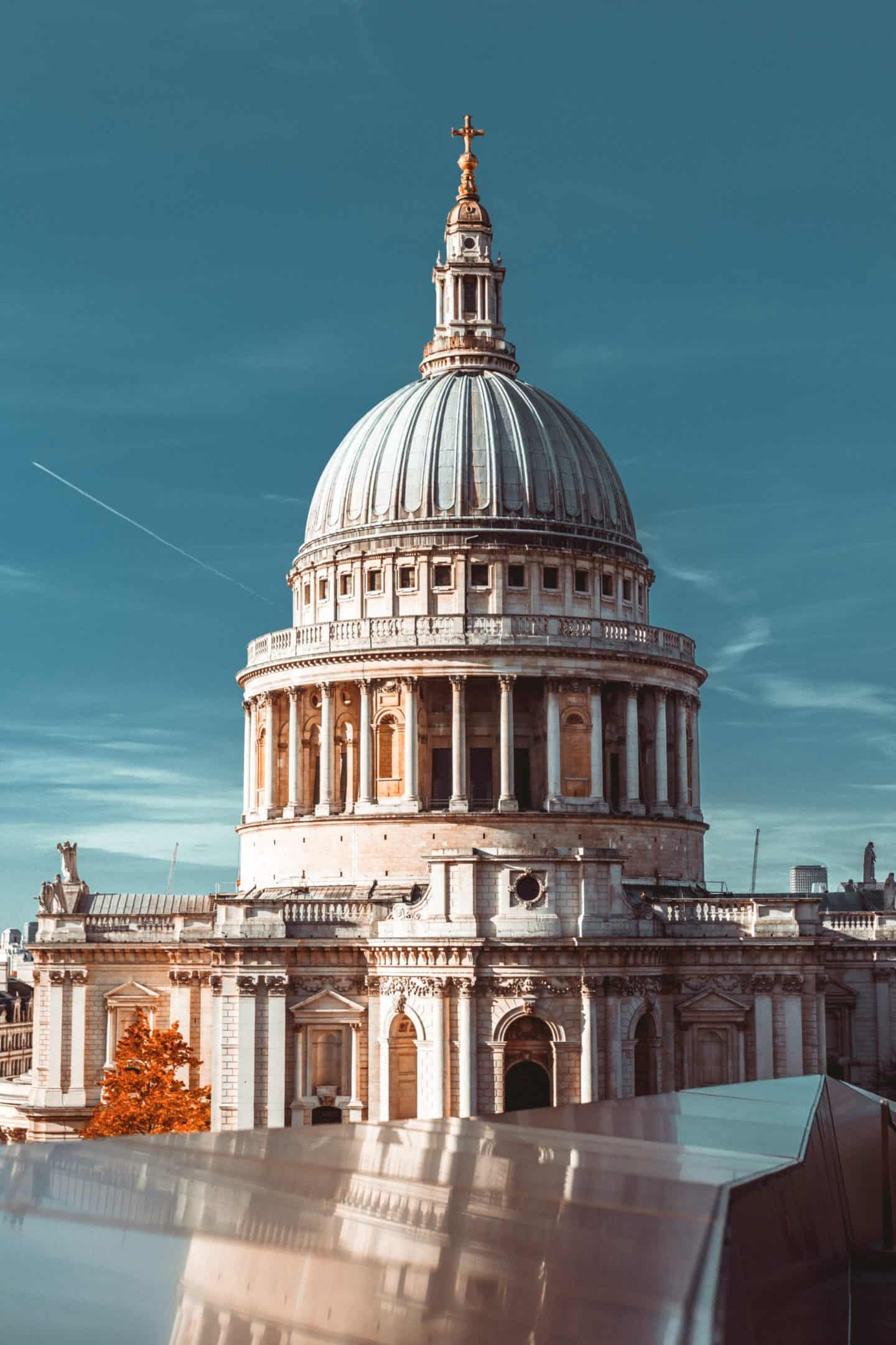 St. Pauls, autumn in London