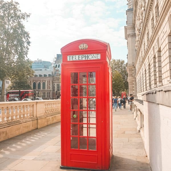 Telephone Booths Central Self-Guided Walking Tour London