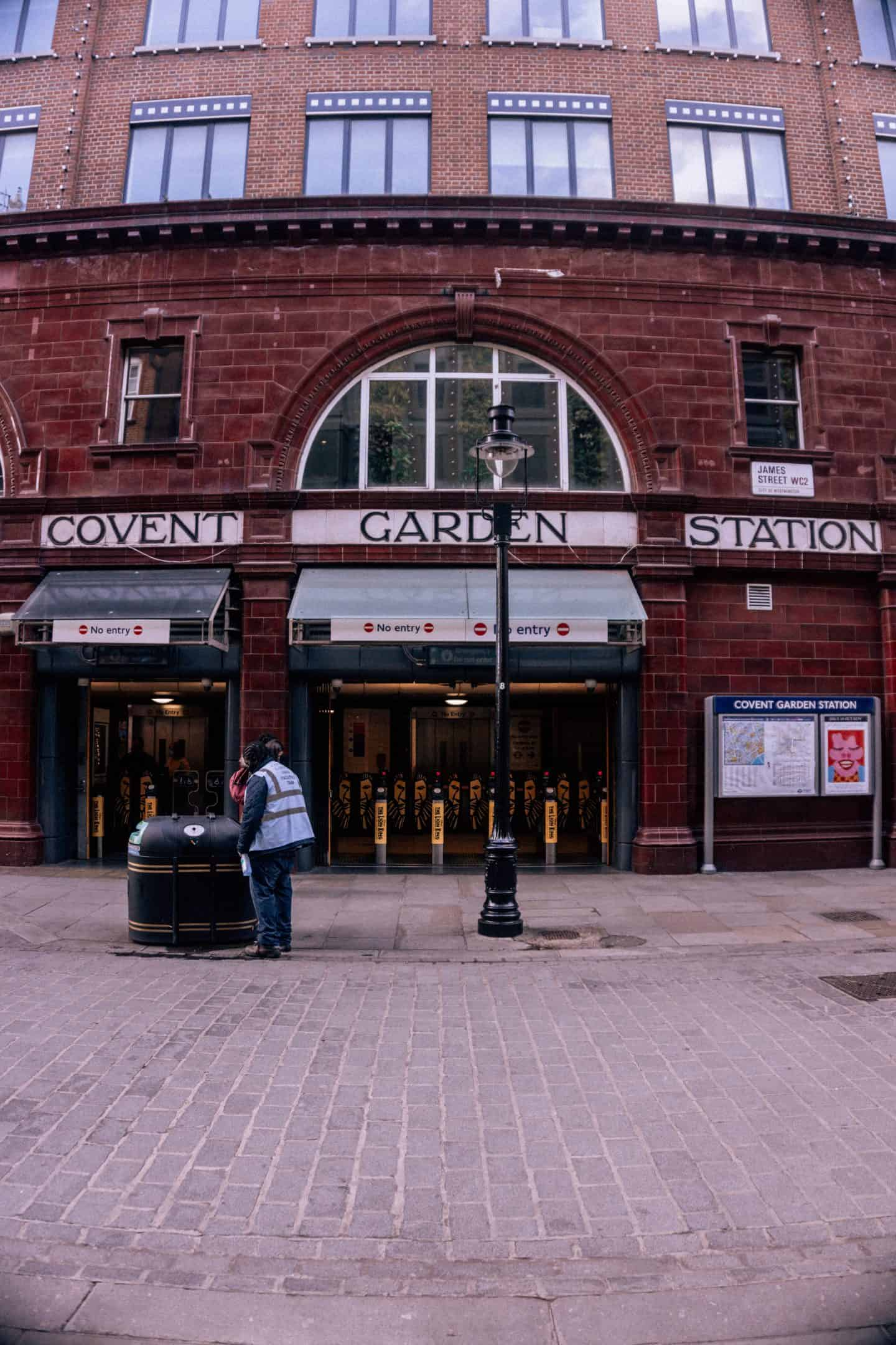Covent Garden Station