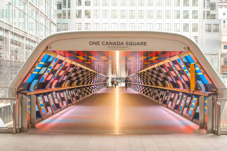 Crossrail Tunnel at Canary Wharf