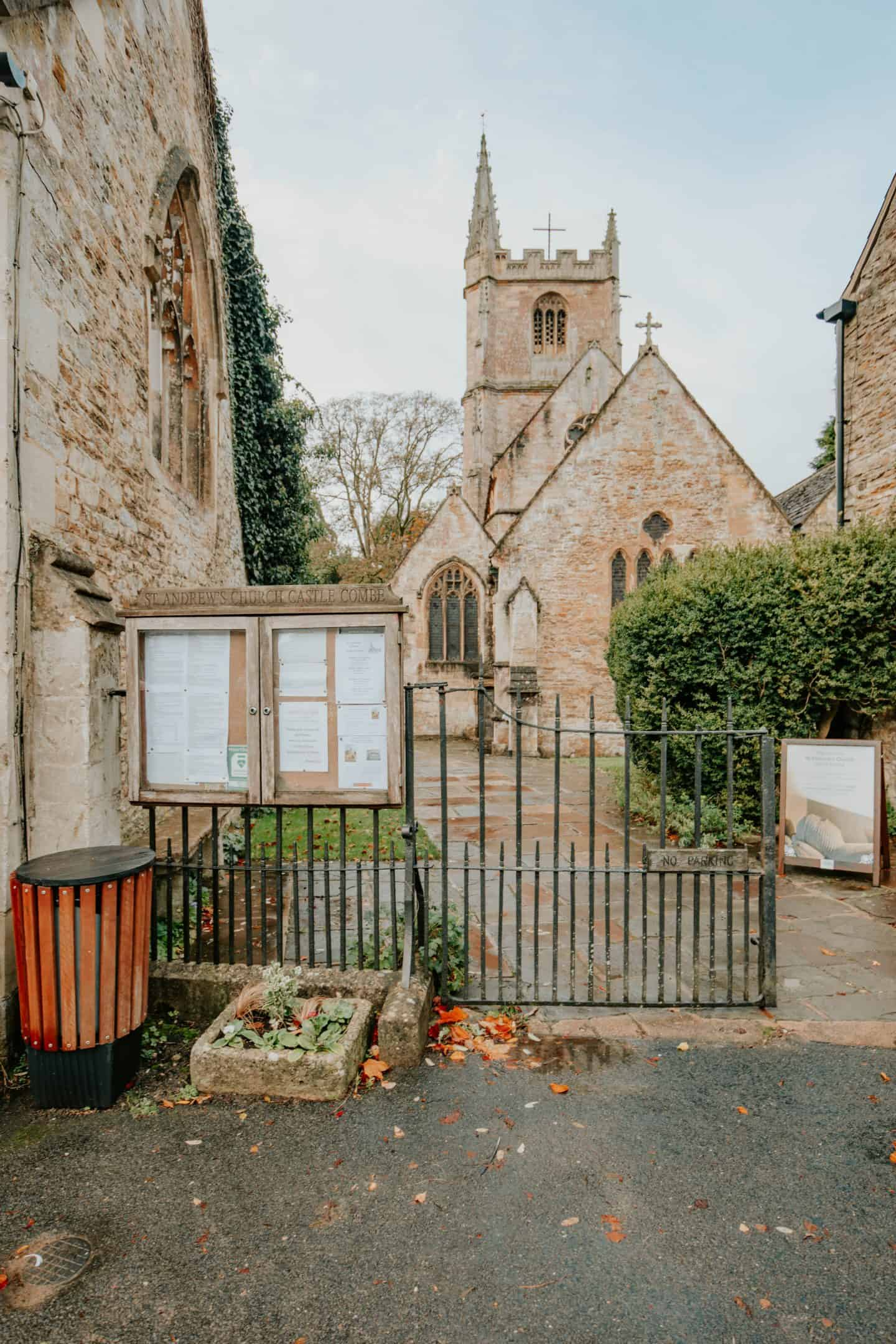 St.Andrew's Church, Castle Combe Cotswolds