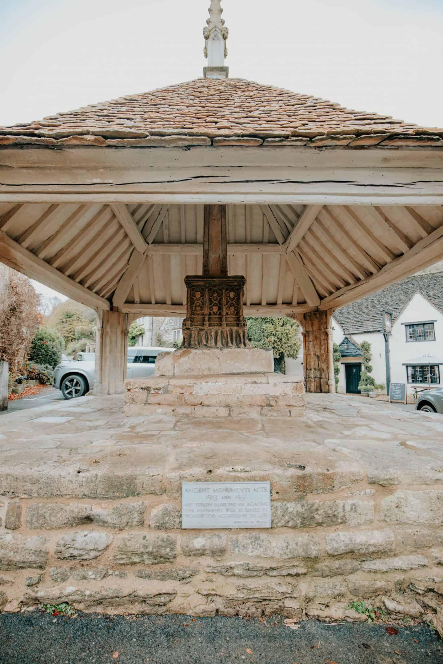 Market Cross Monument, Castle Combe, Cotswolds