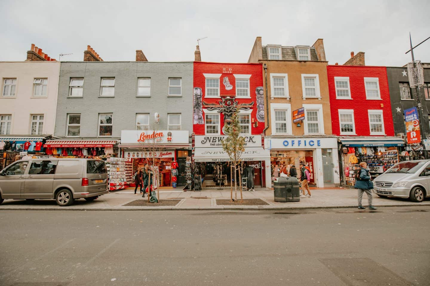 Colorful Houses in Camden