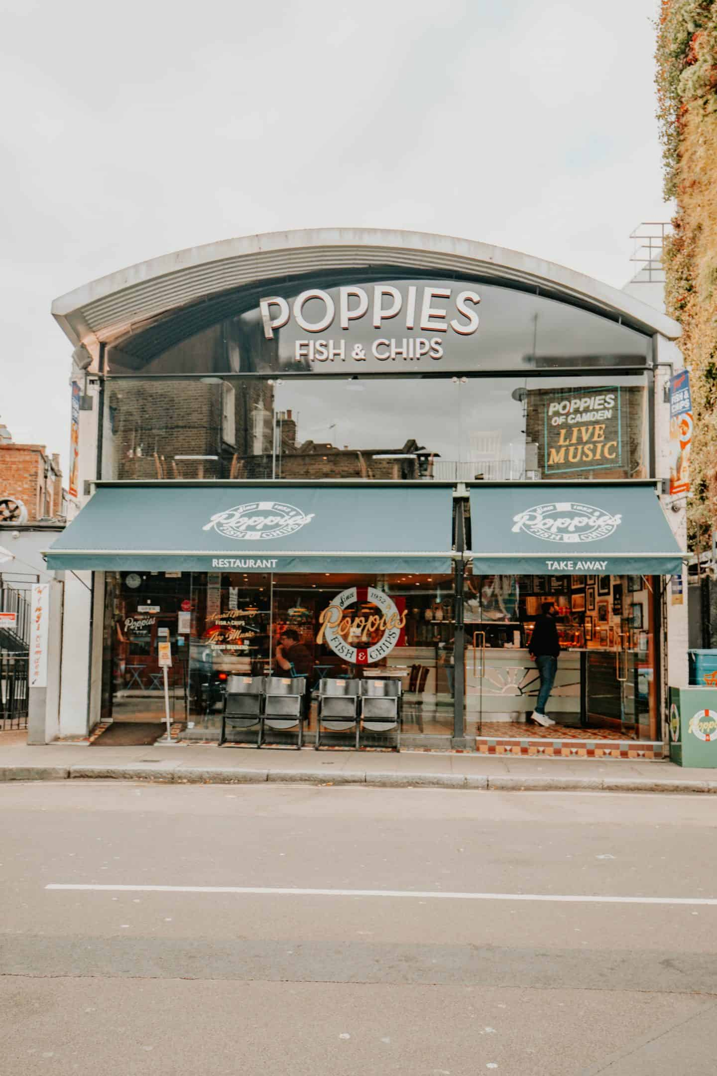 Poppie's Fish and Chips Camden