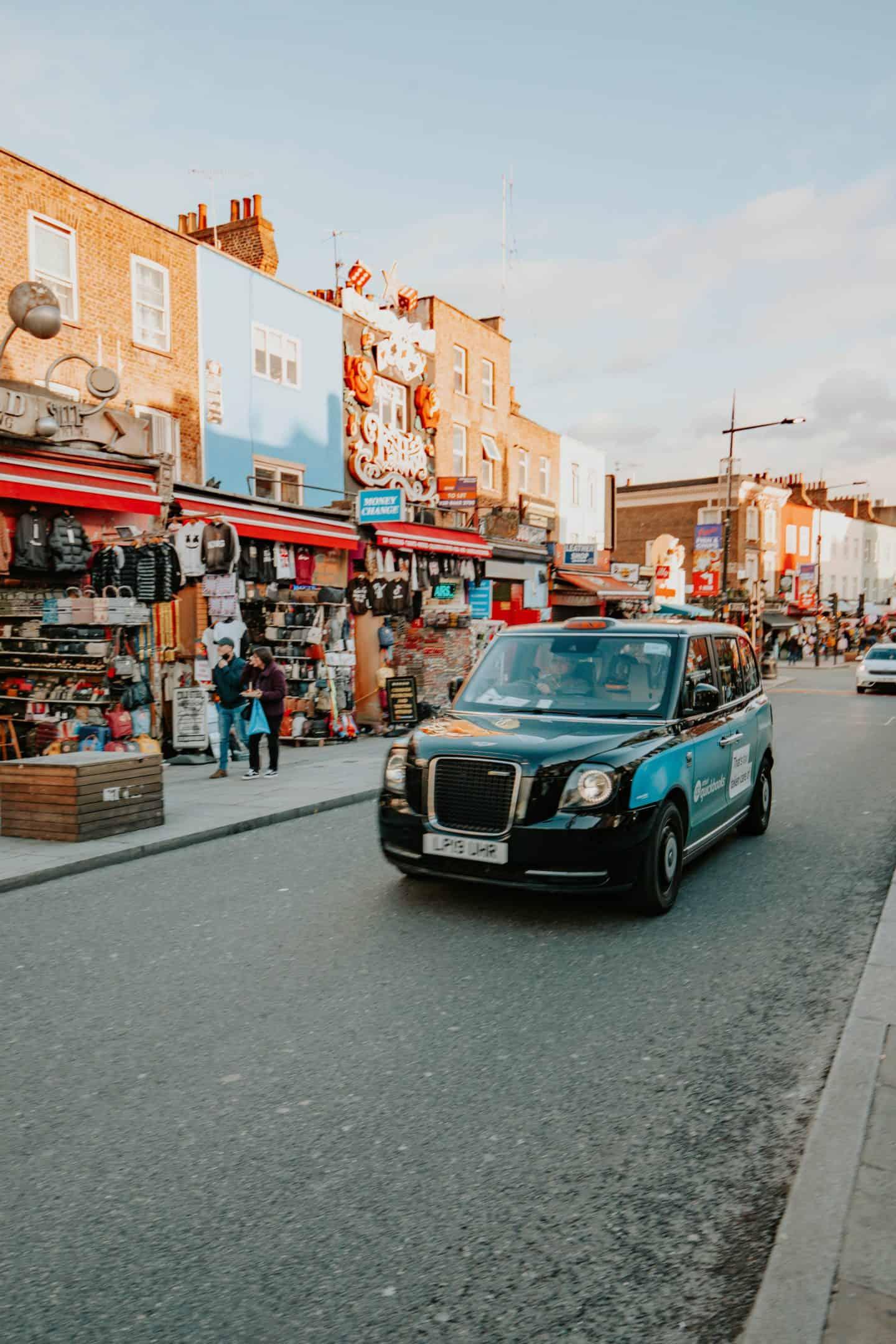 Car in Camden
