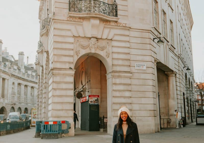 Candace in London
