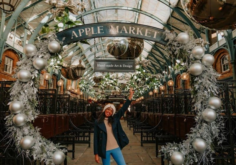 Candace in Apple Market Covent Garden