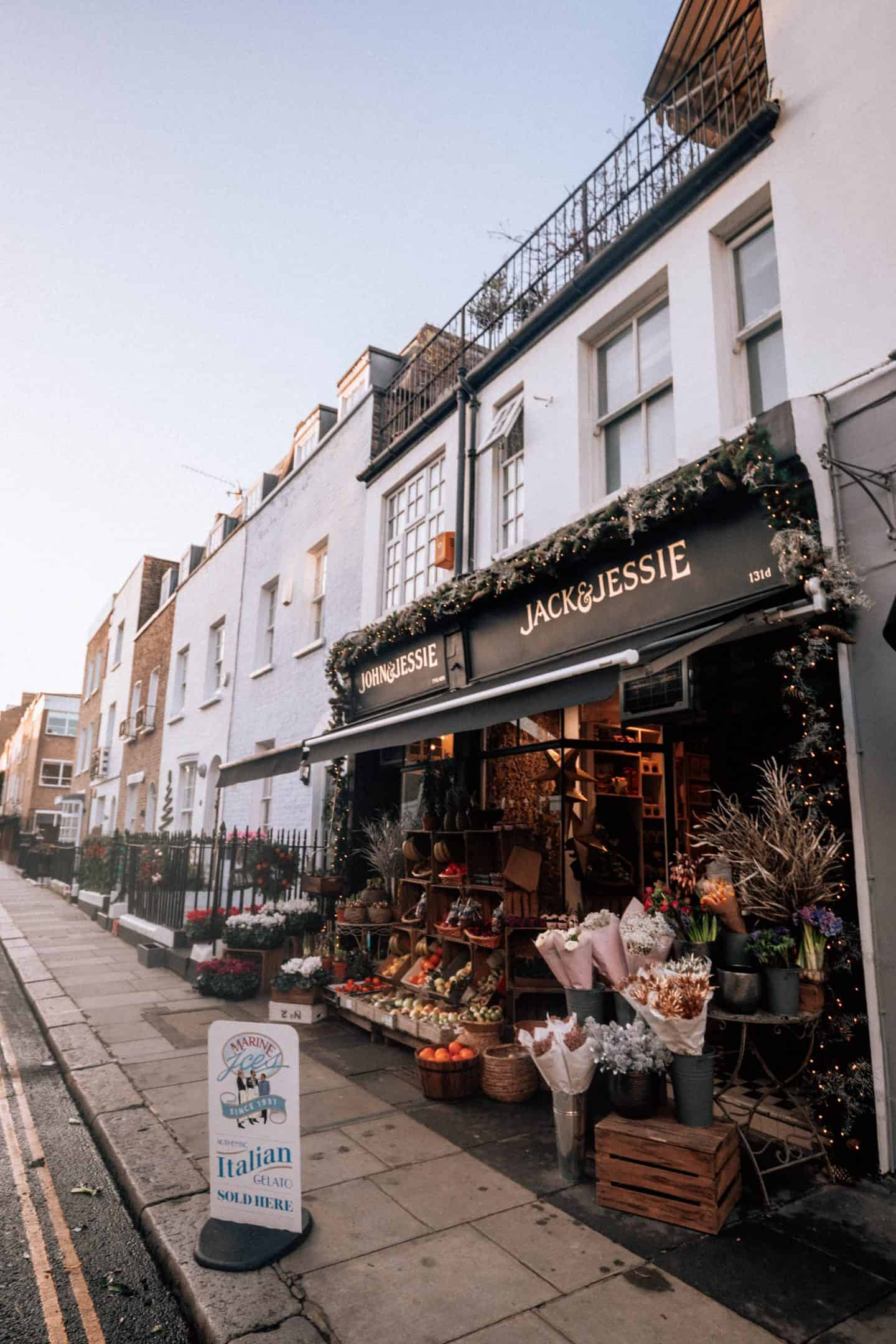 Boutique Shops in London