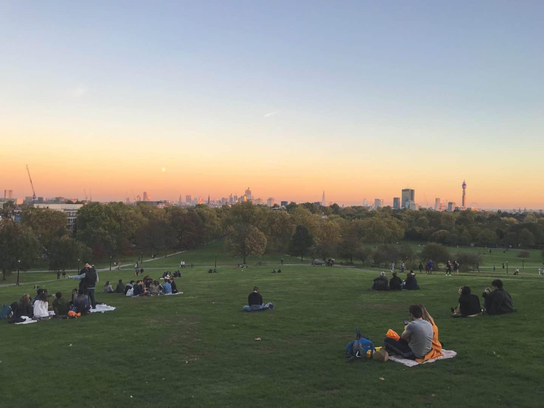 Sunset-at-Primose-Hill-London